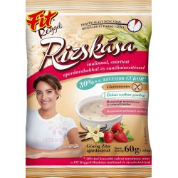 Fit Reggeli Ryžová kaša vanilka- jahoda 60 g