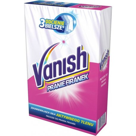 Vanish Prášok na pranie záclon 6 praní 400 g
