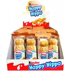 Kinder Happy Hippo oblátka s mliečnou a lieskovcovou náplňou 20,7 g