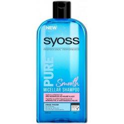 Syoss Pure Smooth šampón pre normálne až hrubé vlasy 500 ml