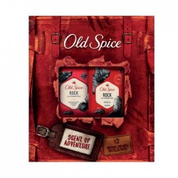 Old Spice kazeta Rock Shower gel 250ml +  + Deodorant Stick 50 ml