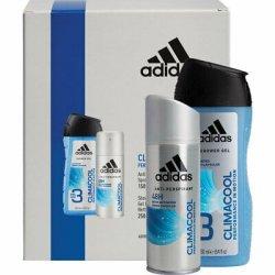 ADIDAS Kazeta MEN CLIMACOOL  sprchový gel 250ml + deodorant 150ml