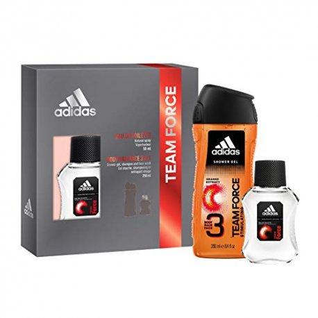 Adidas darčeková kazeta Team Force Sprchový gél 250ml + toaletná voda 50ml