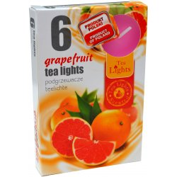 Admit Tea Lights grapefruit 6 x 12 g