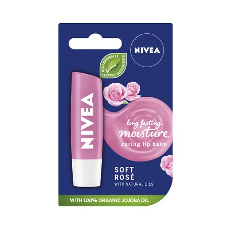 Nivea balzam na pery  Soft Rosé 4,8 g