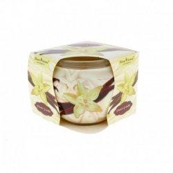 Sviečka v skle French Vanilla 7cm x 6,5 cm