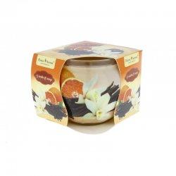 Sviečka v skle Vanilla Orange  7cm x 6,5 cm