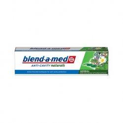 Blend-a-med zubná pasta Anti cavity naturals 100 ml