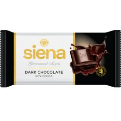 SIENA  čokoláda Dark 60% cacao  90g