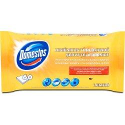 Domestos Hygienické čistiace vlhčené utierky Lemon 60ks