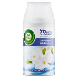 Air Wick Freshmatic náplň Cool Linen And White Lilac - Vôňa sviežeho prádla  250 ml