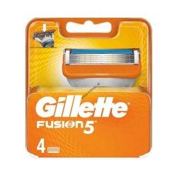 Gillette Fusion Náhradne Holiace Hlavice 4 ks