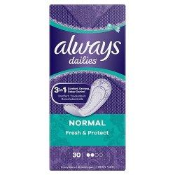 Always dailies Fresh Protect Normal 30 ks