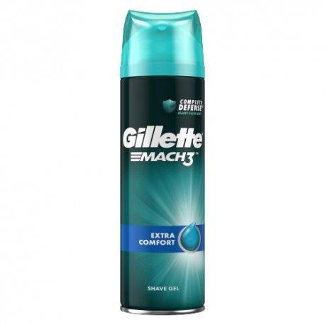 Gillette Mach3 gél na holenie - Extra comfort 200 ml