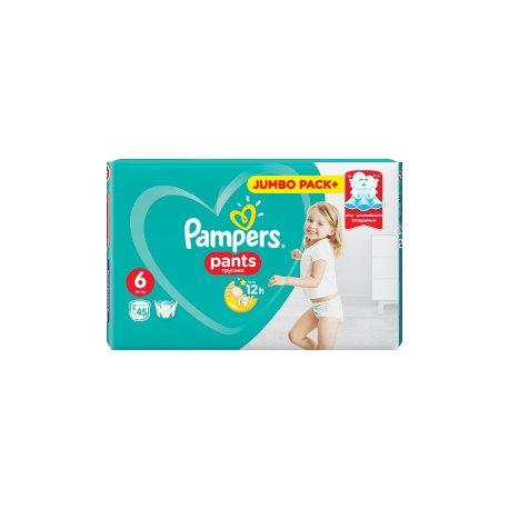 Pampers Pants Plienkové nohavičky 6/12 ks (15+kg)