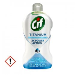Cif Titanium prostriedok na ručné umývanie 450 ml