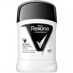 Rexona Tuhý antiperspirant Invisible Black + White 50 ml