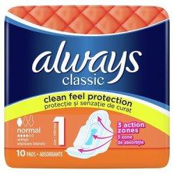 Always Classic hygienické vložky 10ks