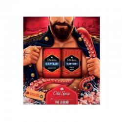 ld Spice darčeková kazeta Captain Sprch.gél 250 ml + stick 50 ml