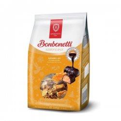 Bonbonetti Vianočné salonky s príchuťou karamelu v tmavej čokoláde 345 g