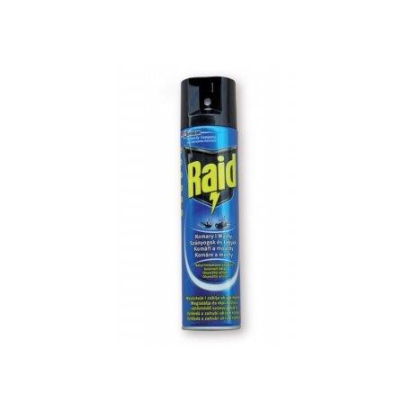 Raid 400 ml - Proti komárom a muchám