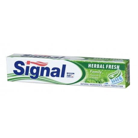 Signal zubná pasta 75 ml - Herbal fresh