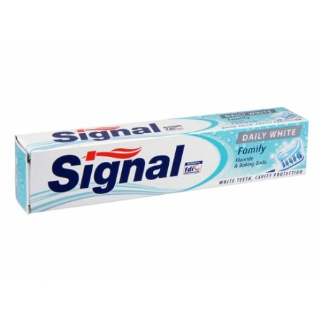 Signal zubná pasta 75 ml - Daily white