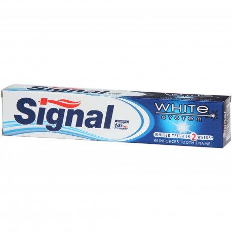 Signal zubná pasta 75 ml - White system