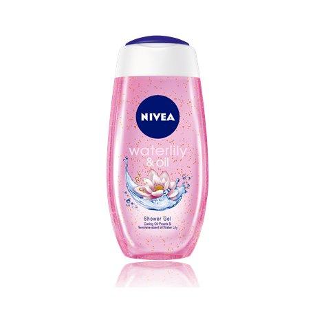 Nivea dámsky sprchový gél 250 ml - Waterlily&oil