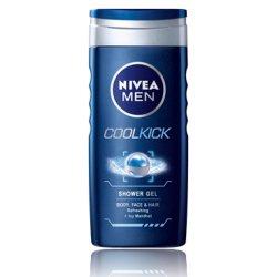 Nivea pánsky sprchový gél - Cool kick 250 ml